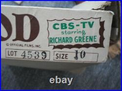 1950's TV MAID MARIAN YANKIBOY COSTUME Richard Greene as Robin Hood