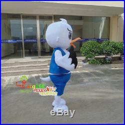2019 Seagull Bird Mascot Dress Adult Party Seabird Christmas Costume Fancy Dress