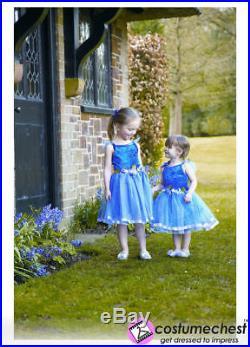 2-3 years Flower Fairy Girls Wedding Brides Costume Dress