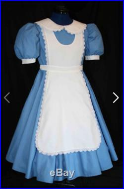 Alice in Wonderland Dress Handmade Bespoke Costume