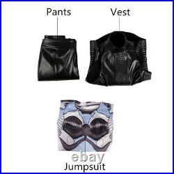 Alita Battle Angel Girl Jumpsuit Vest Pants Women Cosplay Tight Bodysuit Costume