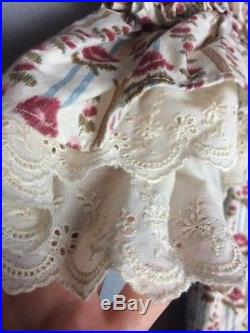 American Girl CHILD SIZE Felicity Rose Garden Dress American Girl 12 Retired