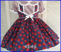 Annemarie-Adult Sissy Baby Girl Dress Back to School Ready to Ship