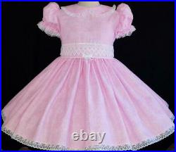 Annemarie-Adult Sissy Baby Girl Pretty in Pink Ready to Ship