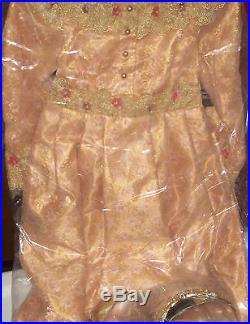 Authentic Disney Store Deluxe Aurora Costume Dress 5/6, Tiara, & Shoes 12/1
