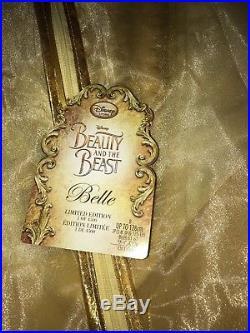 BNWT Geniune Disney Store Beauty & The Beast Belle Dress Limited Edition 6 Years