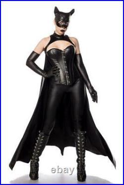 Bat Girl Kostüm Batman Damen Kostüm Komplet Set Fasching Karneval S-XL