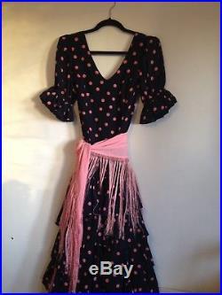 Beautiful Genuine Spanish Flamenco Dress, Women