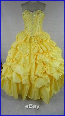 Belle princess dress (adult)HANDMADE