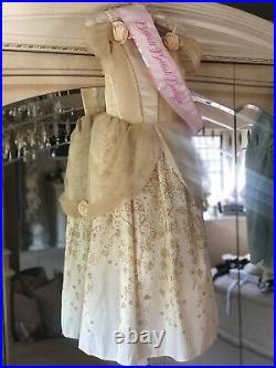 Bibbidi Bobbidi Boo Boutique Harrods Disney Store Princess Belle Yellow Dress 9