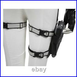 Black Widow Yelena Cosplay Costume White Jumpsuit Adult Women Girl Halloween