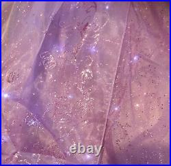 Bnwt New Disney Store Deluxe Rapunzel Interactive Light Up Music Costume Age 5-6