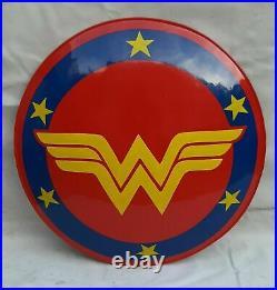 Brand New DC Super Hero Wonder Woman Shield For Halloween Steel 22 Amazon War