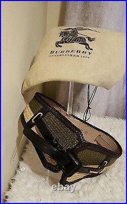 Burberry prorsum stunning ladies belt