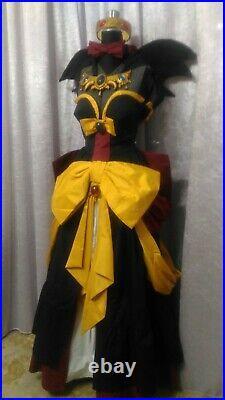 COSPLAY COMPLETO Rozalin Disgaea 2 woman girl princess dark