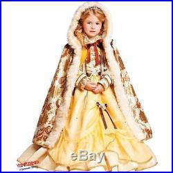 COSTUME di CARNEVALE da PRINCIPESSA BELLA BESTIA LUSSO 50530 vestito per ragazza