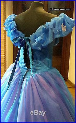 Cenerentola Vestiti Carnevale Sposa Donna Su Misura Cinderella Wedding Dress 006
