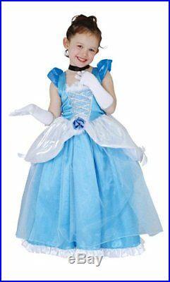 Cinderella Deluxe Princess Dress Costume Girls 100-120cm 802055S JAPAN