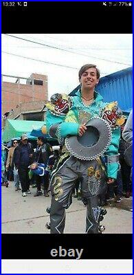 Costume Carnavale Peruviano DI Puno. È L'unico Presente In Europa! Anno 2018