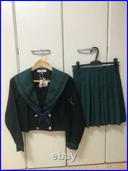 Costume Ladies Women School Girl Set Skirt Shirt Sailor Japan New With Tag F/s
