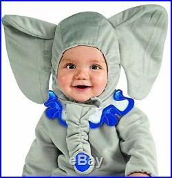 Costume Vestito Elefante per Bambini di 12 a 18 Mesi Carnevale Elephant