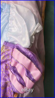 DISNEY Princess 10-Piece Wardrobe Set Dress Up Costume Girls 5/6 NWT