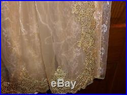 DISNEY STORE Maleficent AURORA SLEEPING BEAUTY 7/8 Medium Dress & TIARA Costume