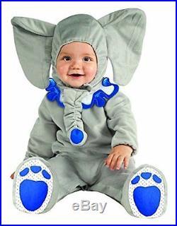 Déguisement Costume Éléphant pour Enfants de 12 A 18 Mois Carnaval Elephant