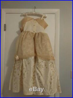 Deluxe Belle DISNEY Store Yellow Sparkle Halloween Costume Gown Size 9 10 NWT