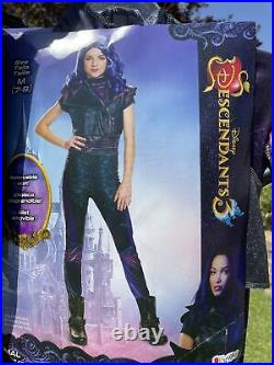 Descendants 3 Mal Deluxe Child Disguise HALLOWEEN Costume With Wig size M(7/8)