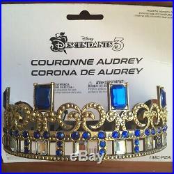 Descendants 3 ULTIMATE Audrey Costume Set STAFF/Cape/Crown/JewelryTote