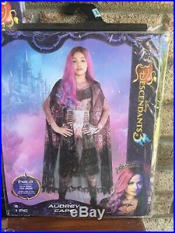 Descendants 3 ULTIMATE Audrey Lot/Set Costume Sz 7-8/CAPE/Crown/Wig/Jewelry