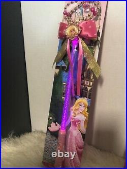 Disney AuthenticPrincess Aurora Costume DressPlus Accesrories Sz Medium(7/8)