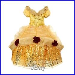 Disney Beauty And The Beast Belle Limited Edition Dress Size 6 Years Cr082 Kk 01