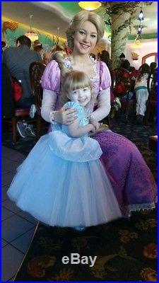 Disney Cinderella Interactive Costume Size 2-3 RARE (Ella Dynae)