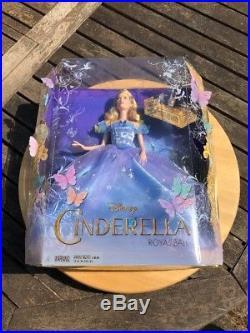 Disney Cinderella Live Action Royal Ball Movie Doll