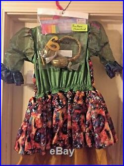Disney Descendants Dizzy Costume Large Size 10 to 12