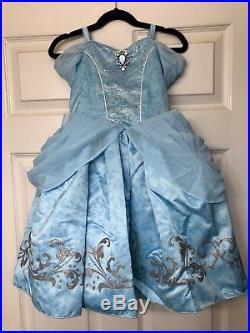 Disney Designer Fairytale Collection Girls 4 Cinderella Deluxe Costume Dress