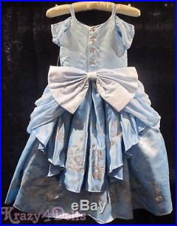 Disney Designer Fairytale Collection Girls 5-6 Cinderella Deluxe Costume Dress