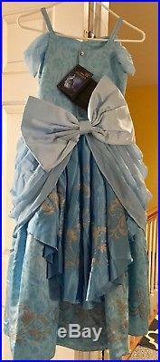 Disney Designer Fairytale Collection Girls Cinderella Deluxe Costume Size 9/10