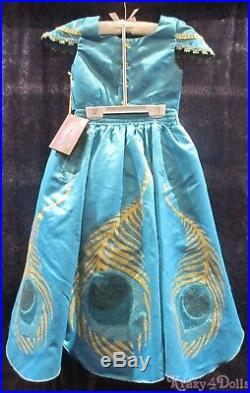 Disney Designer Fairytale Princess Jasmine Deluxe Girls Costume Dress 9-10 New