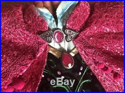 Disney Limited Edition Deluxe Halloween Costume Frozen Anna 5 Cosplay Girls