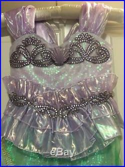 Disney Limited Edition Little Mermaid Ariel Costume Dress Size 4