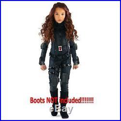 Disney Marvel Avengers Exclusive Deluxe Black Widow Costume Child 7-8 Med New