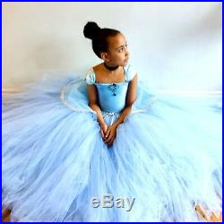 Disney inspired cinderella tulle tutu dress,fancy dress,princess,fairytale dress
