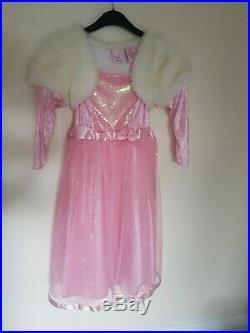Disney Princess Dress, Belle, Rapunzel, Cinderella, Red Princess Dress, Fairy