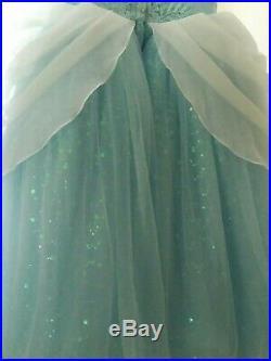 Disney Princess Signature Collection Cinderella Dress Girl Size 7/8