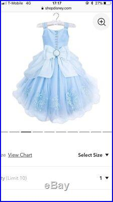257ead9a4 Disney Signature Collection Cinderella Dress. Brand New With Tags. Age 6.  45-