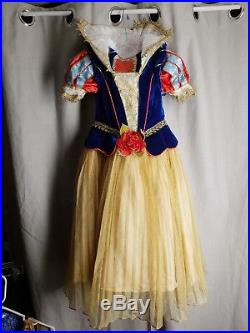 Disney Snow White Dress Limited Edition Gown 1 of 2000 Girls Size 5