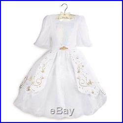 Disney Store Ariel Designer Wedding Dress Deluxe Costume The Little Mermaid Eric